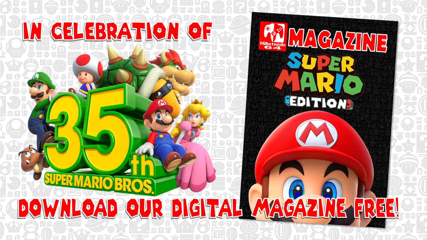 M64 Magazine - Super Mario Edition