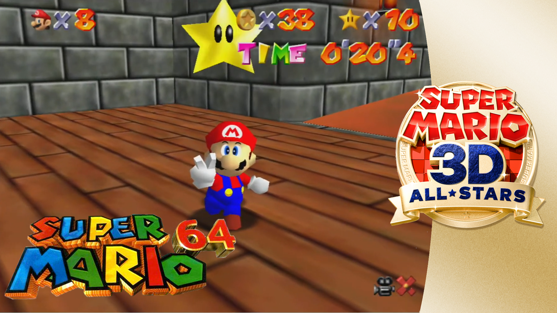 Super Mario 64 Castle Secret Stars