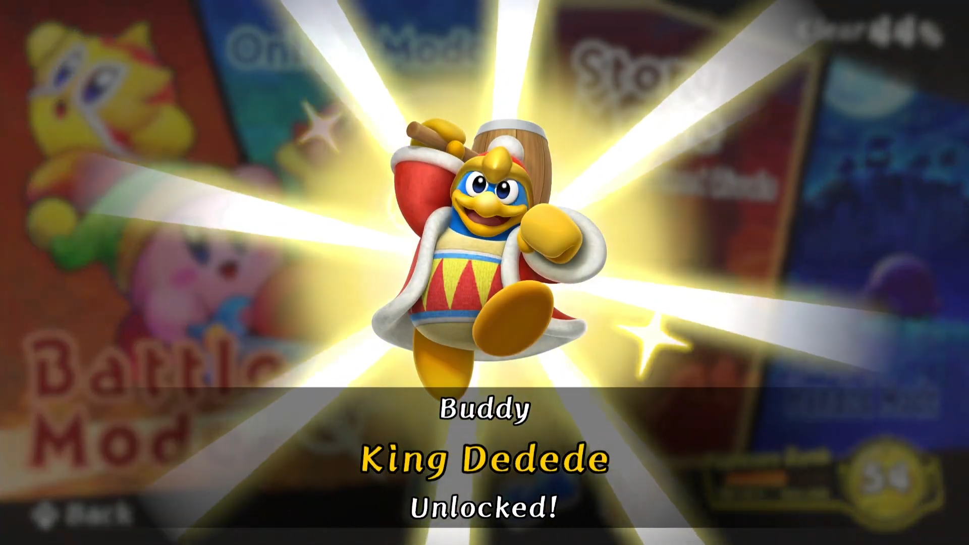 Kirby Fighters 2 Unlockable Characters