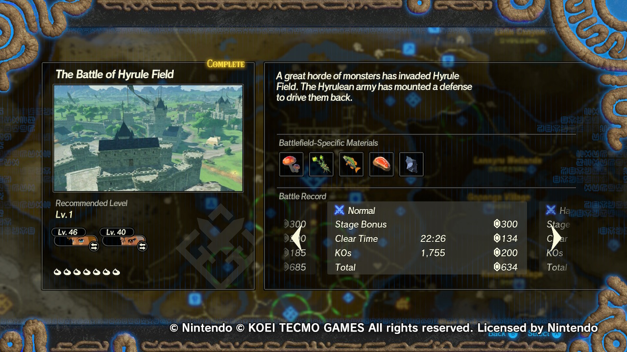 Hyrule Warriors Age Of Calamity Chapter 1 Korok Locations Miketendo64