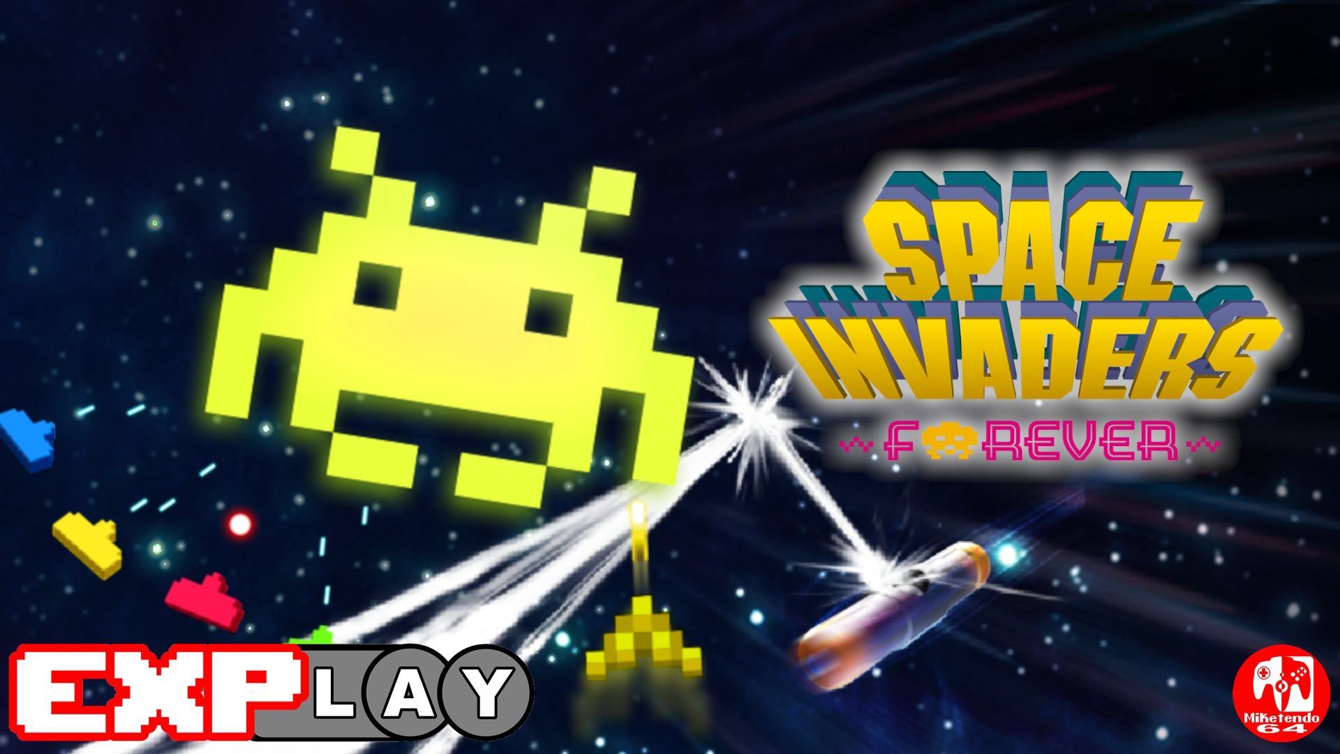 EXPlay Space Invaders