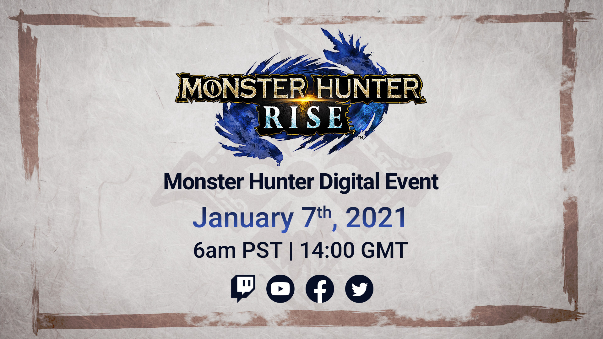 Monster Hunter Rise Digitial Event