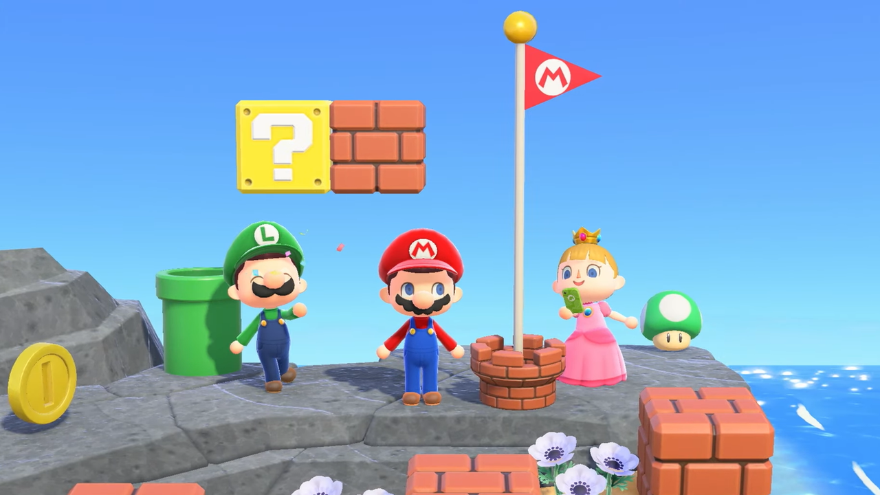 Animal Crossing: New Horizons X Super Mario