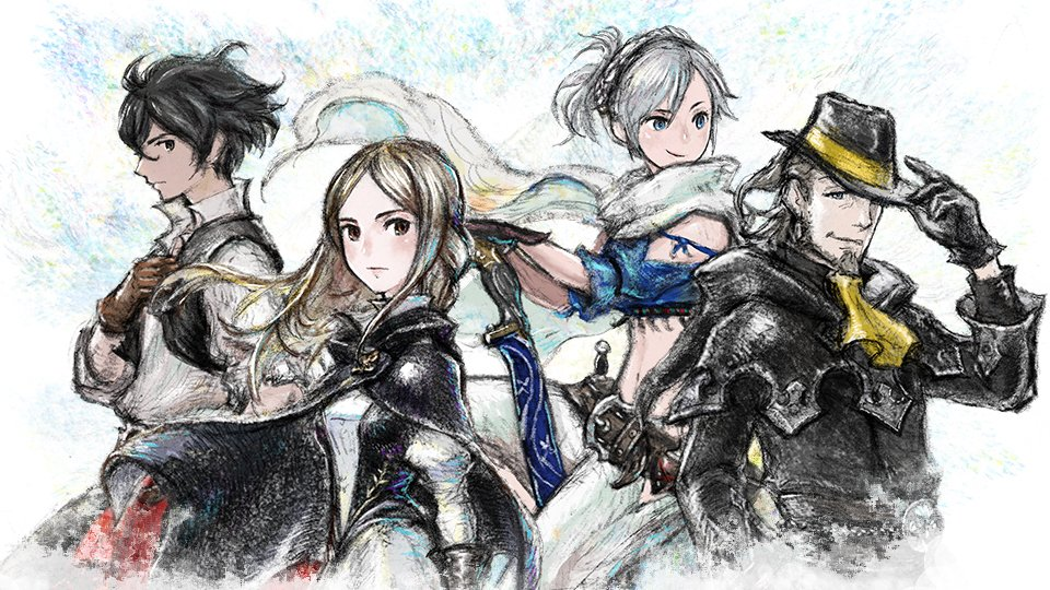 Bravely Default II Spirit Event