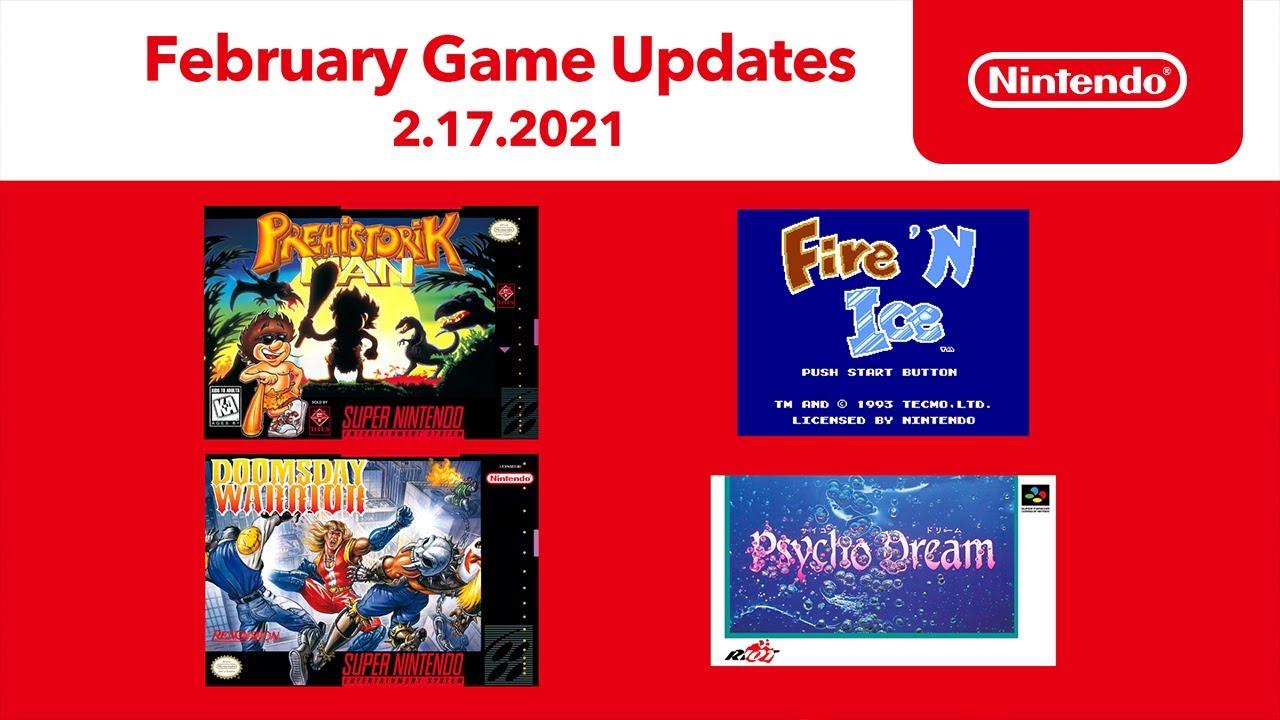 February Game Updates