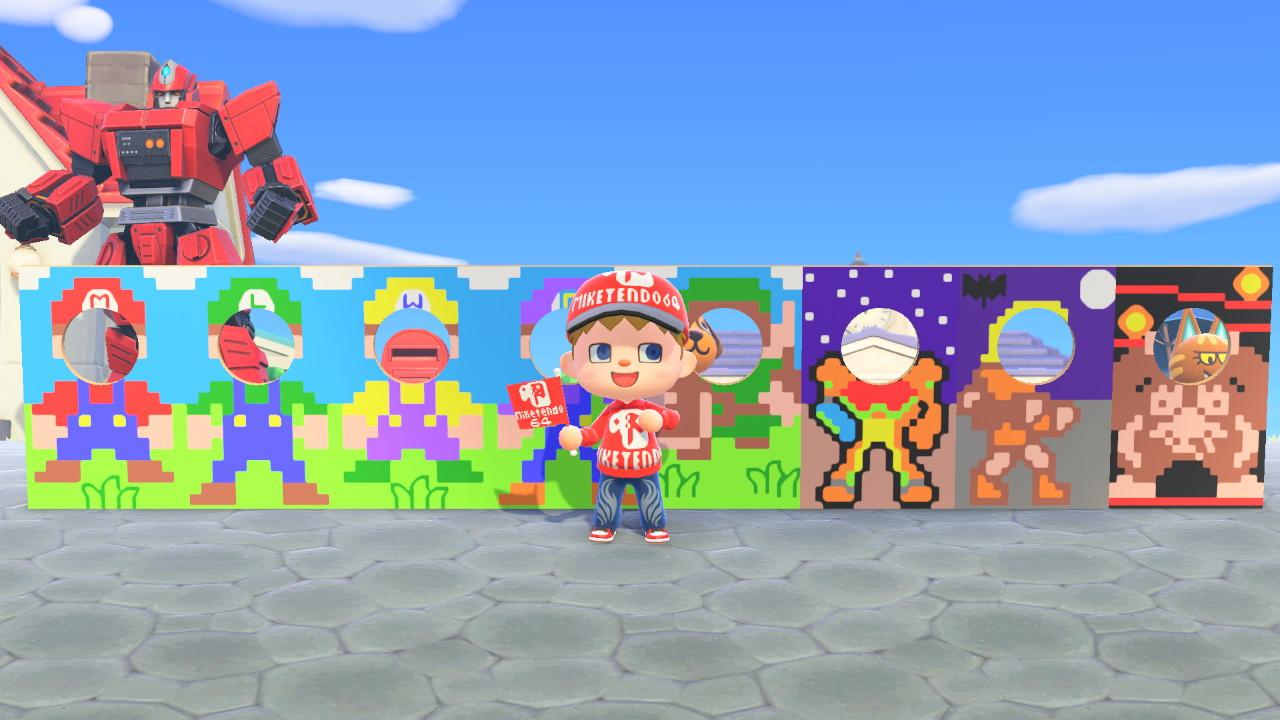 Animal Crossing Standee Designs