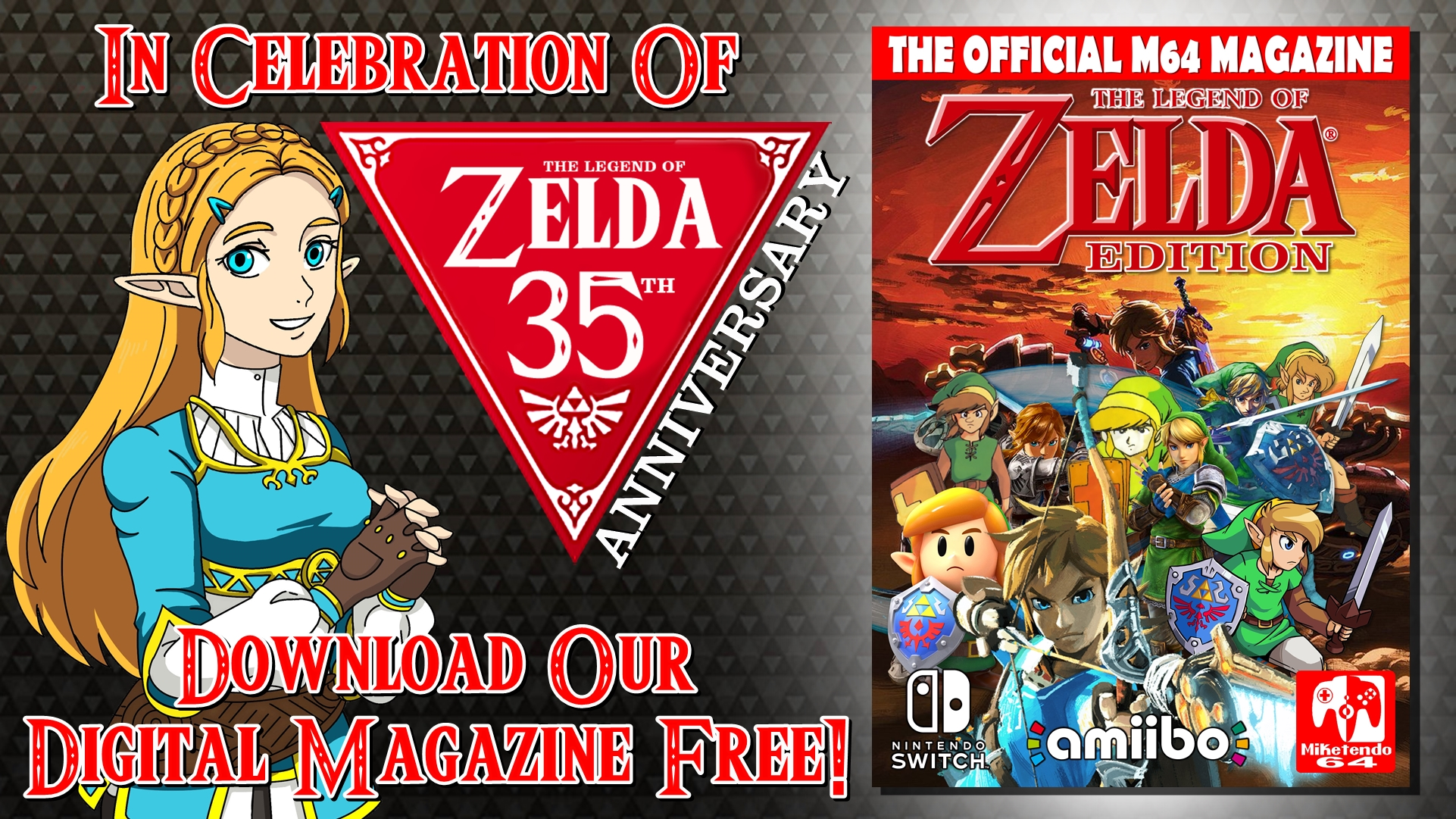 M64 Magazine - The Legend of Zelda Edition