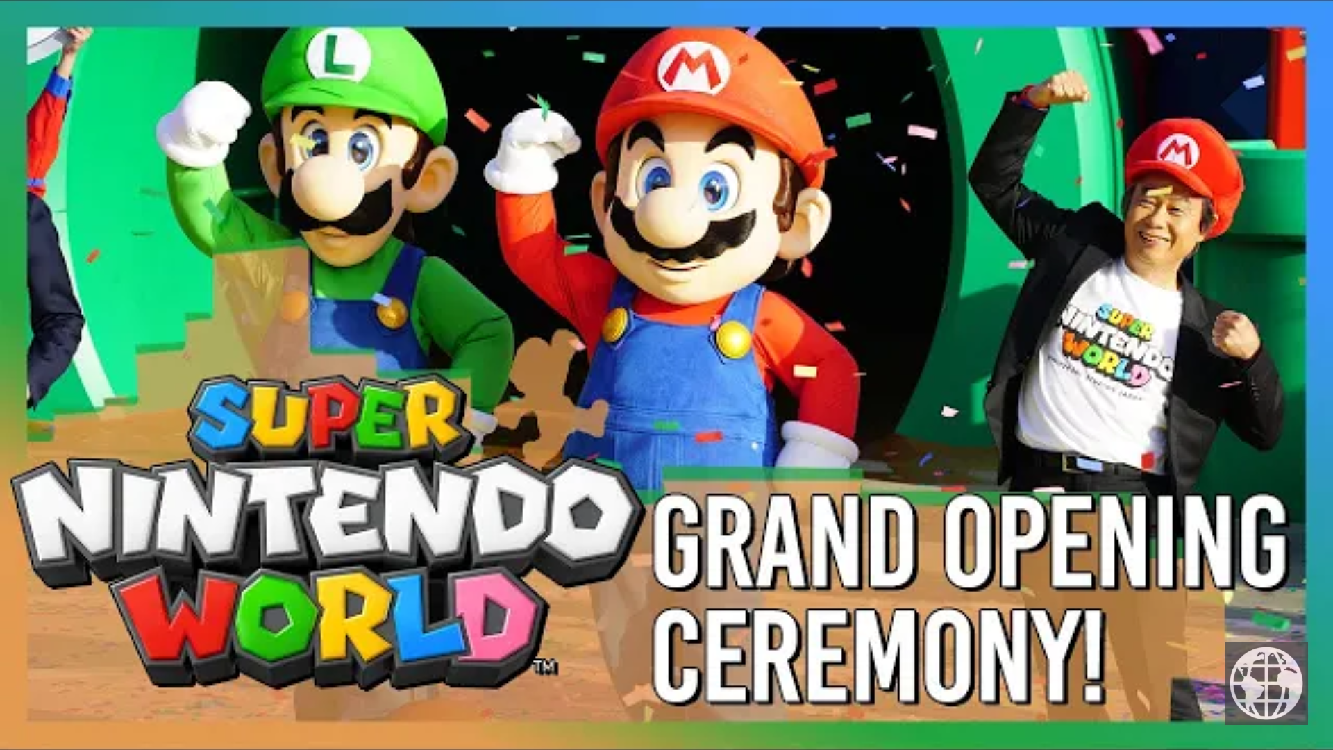 Super Nintendo World Grand Opening