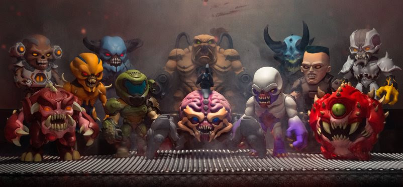 Doom collectible figurines