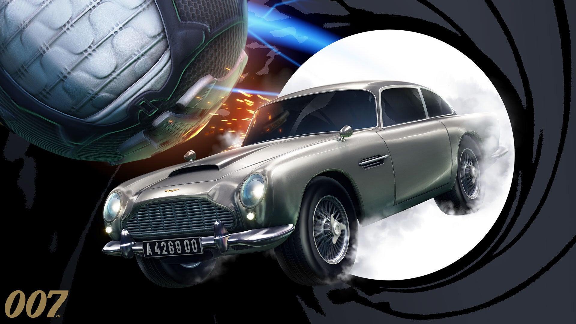 James Bond Rocket League