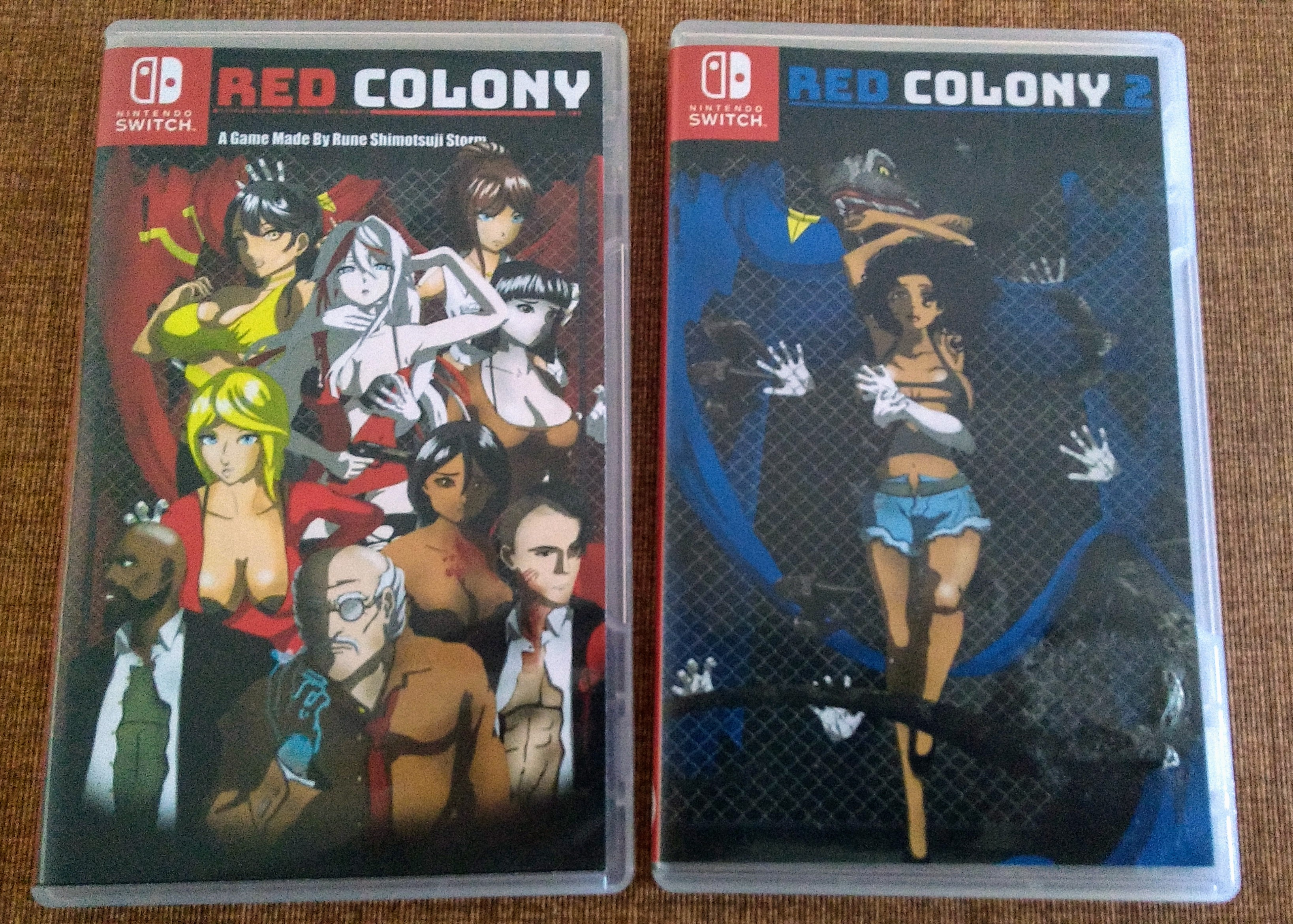 Red Colony Switch Box Art