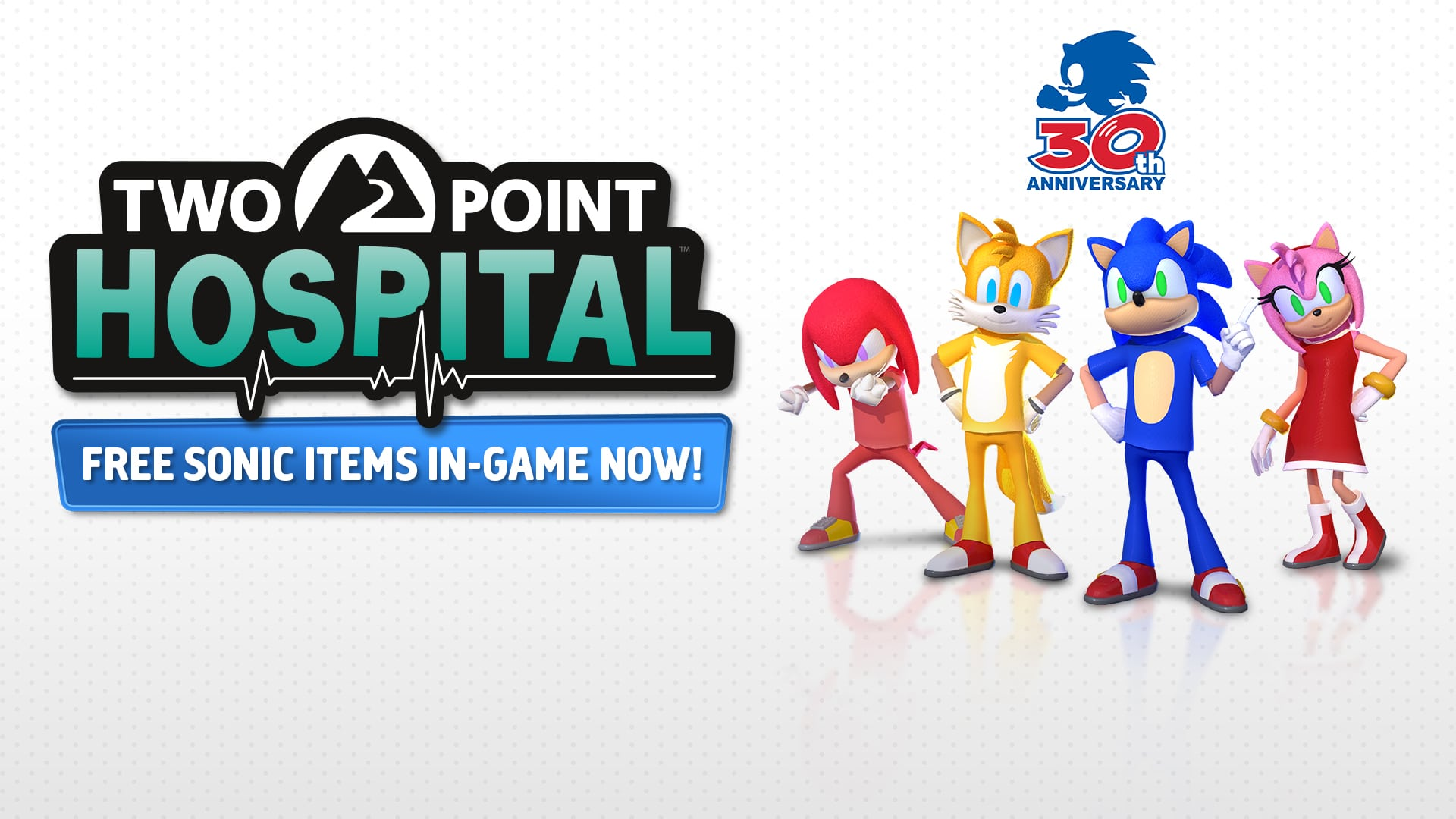 Two Point Hospital Sonic 30th