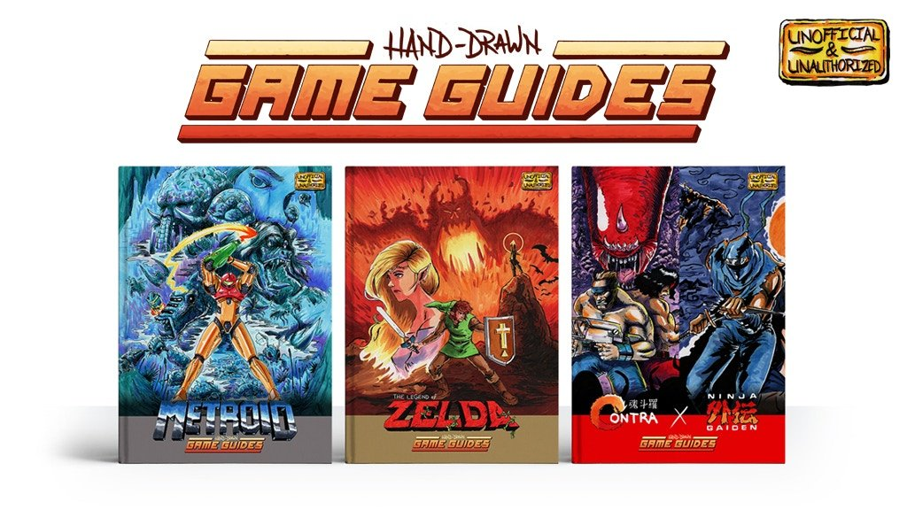 Hand-Drawn Game Guides