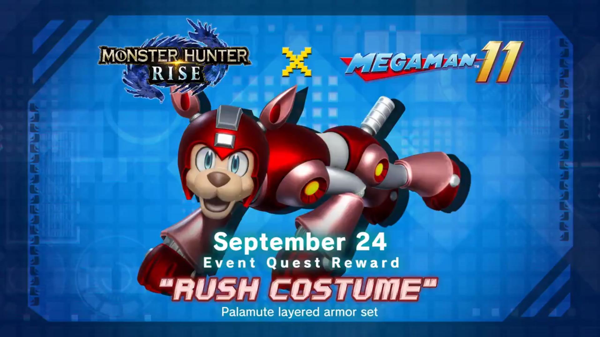 RUSH Costume Capcom Collab #4